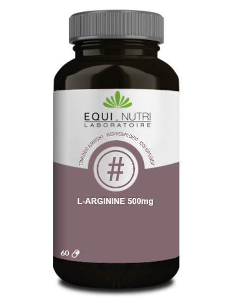 L Arginine 60 gélules végétales 500mg Equi - Nutri acide aminé Herboristerie de paris