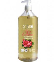 Shampooing douche Rose d'Antan 1L C'bio