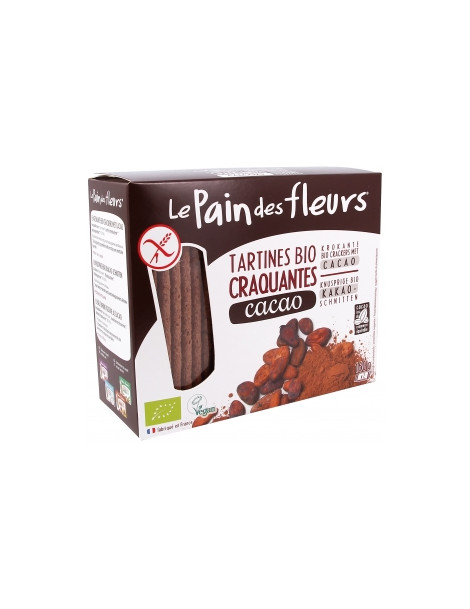 Tartines craquantes Cacao 160g Le Pain Des Fleurs