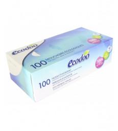 Boite de 100 mouchoirs écologiques Ecodoo