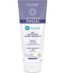 Gel dermo nettoyant visage peaux désydratées et sensibles 200ml Eau Thermale Jonzac