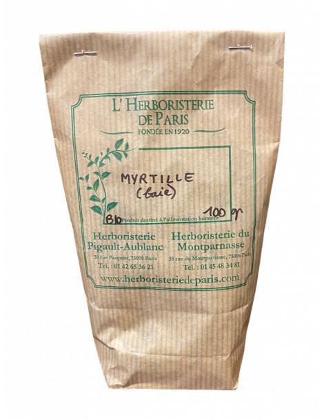 Myrtille (Airelle) baie 100 gr Herboristerie de Paris