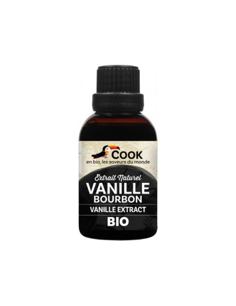 Extrait de vanille bourbon 40ml Cook