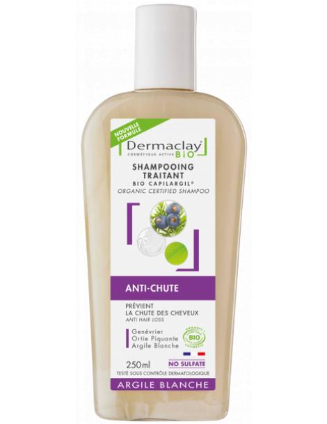 Shampoing anti chute, aide à la repousse Capilargil 250ml Dermaclay