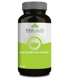 Bromelase Papaïne n°46 60 gélules végétales Equi - Nutri