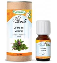 Huile essentielle cèdre de virginie 10ml Phytofrance
