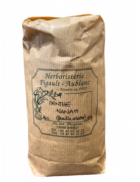 Menthe Nanah Feuille BIO 100g Herboristerie de Paris
