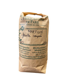 Myrtille Feuille coupée BIO 100g Herboristerie de Paris