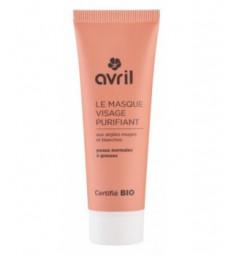 Masque visage purifiant peaux normales à grasses 50ml Avril