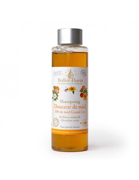 Shampoing Douceur de Miel flacon de 250 ml Ballot Flurin - shampooing bio Herboristerie de paris
