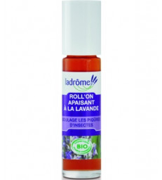 Roll on Apaisant Lavande soulage les piqûres d'insectes 10ml Ladrome