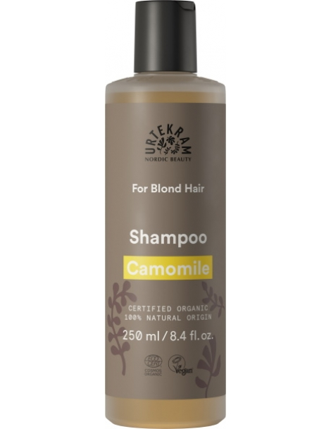 Shampoing Camomille pour cheveux blonds 250ml Urtekram