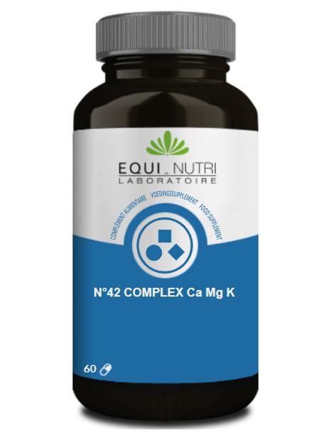 Calcium Magnesium Potassium 60 gélules végétales Equi Nutri élimination Herboristerie de paris