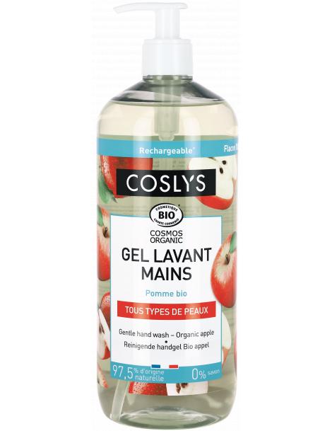 Crème lavante mains douceur pommes récoltées en France 1L Coslys