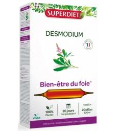 Desmodium 20 ampoules de 15ml Super Diet