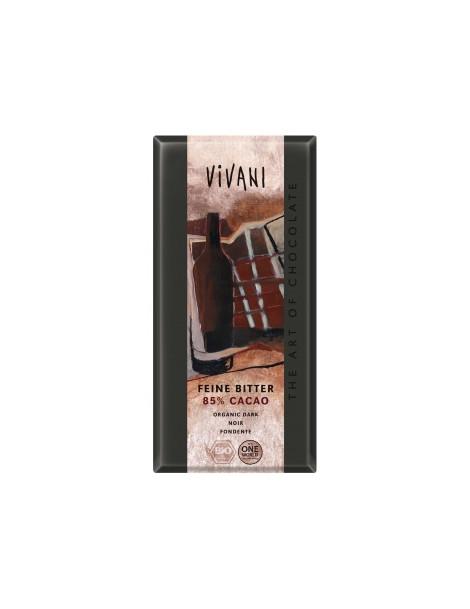 Chocolat noir 85% 100g Vivani