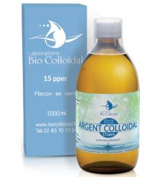 Argent Colloïdal 15 PPM 1 litre Bio Colloidal
