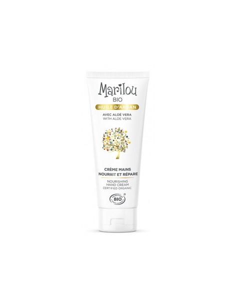 Crème mains à l'huile d'Argan 75ml Marilou Bio