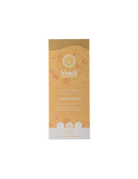 Teinture aux plantes Blond Soleil 100g Khadi