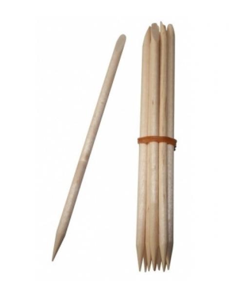 Bâtonnets repousse cuticules en bois x10 Avril Beauté Herboristerie de Paris