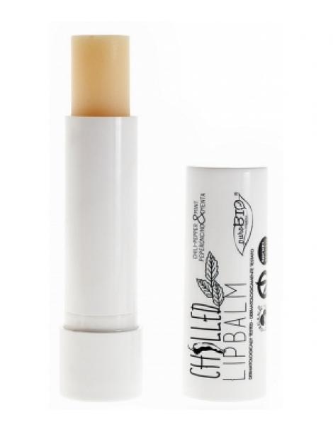 Baume à lèvres Chilled 5ml Purobio Cosmetics Herboristerie de Paris
