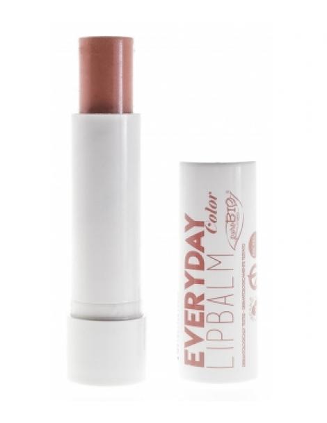 Baume à lèvres Everyday Colour 5ml Purobio Cosmetics Herboristerie de Paris