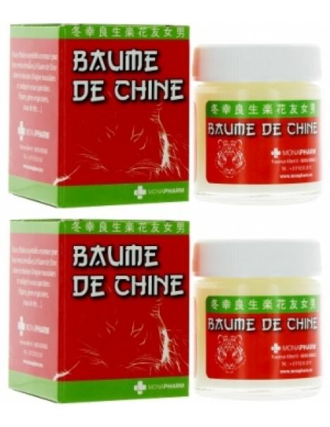 Baume chinois baume de massage 60.0ml (2x30ml) Monapharm Herboristerie de Paris