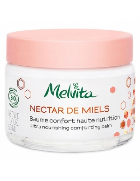 Baume confort Haute nutrition 50ml Melvita Herboristerie de Paris