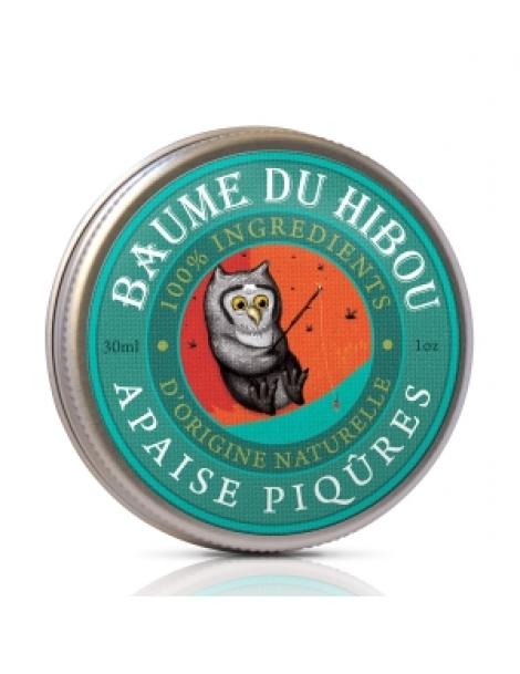 Baume de massage apaise piqûres 30ml Les Baumes Du Hibou Herboristerie de Paris