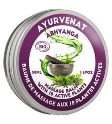 Baume de massage Ayurvédique ABHYANGA aux 18 plantes 50ml Oleanat