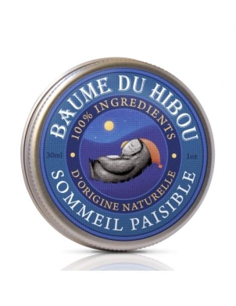 Baume de massage sommeil paisible 30ml Les Baumes Du Hibou Herboristerie de Paris