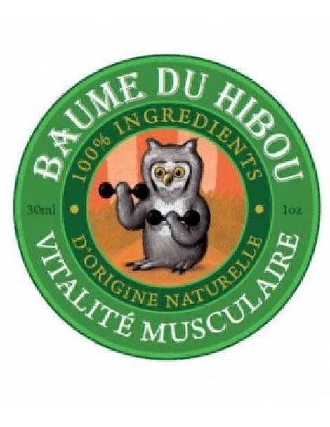 Baume de massage vitalité musculaire 30ml Les Baumes Du Hibou Herboristerie de Paris