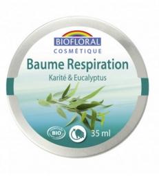 Baume respiratoire Karité Eucalyptus 35ml Biofloral