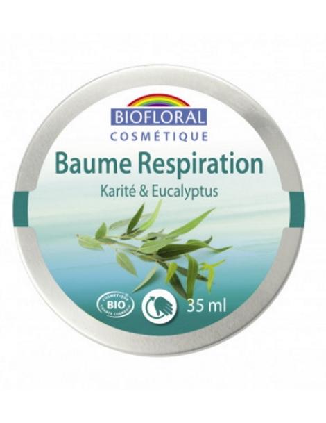 Baume respiratoire Karité Eucalyptus 35ml Biofloral Herboristerie de Paris