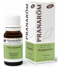 Huile essentielle de Bergamotier Bio Flacon compte gouttes 10ml Pranarôm