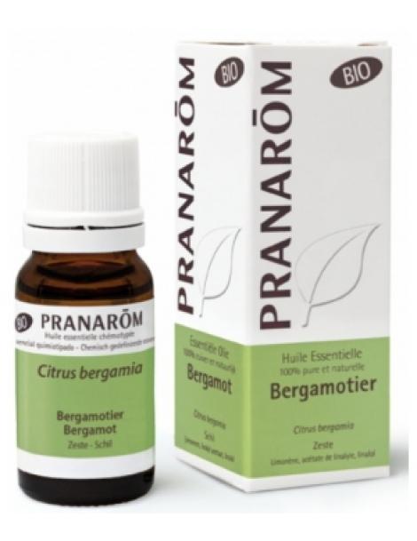 Bergamotier Bio Flacon compte gouttes 10ml Pranarôm Herboristerie de Paris