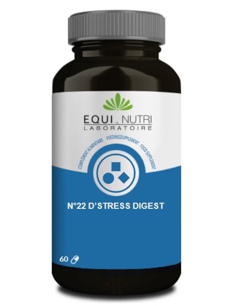No 22 D Stress Digest 60 gélules Equi - Nutri équilibre nerveux digestif Herboristerie de paris