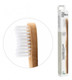 Brosse à dents adultes blanche Humble Brush