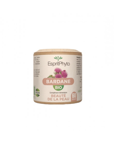 Bardane Bio 60 Gélules Esprit Phyto