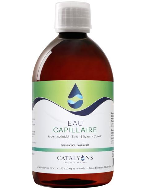 Eau Capillaire Recharge 500 ml Catalyons brillance force et souplesse Herboristerie de paris