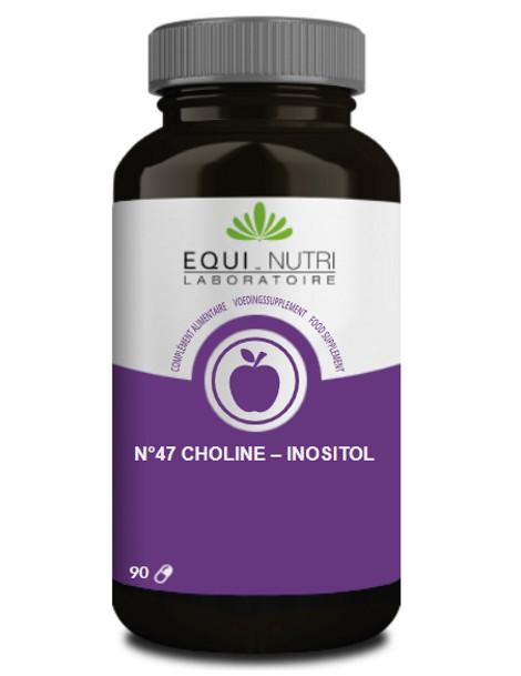 Choline Inositol 90 gélules végétales Equi - Nutri lipides foie Herboristerie de paris