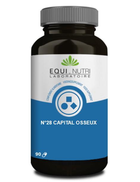 Capital Osseux Complexe No 28 90 gélules Equi Nutri nutrition de l'os Herboristerie de paris