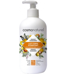 Lait corporel Orange Mandarine hydratant 500ml Cosmo Naturel