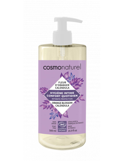 Gel intime Confort quotidien 500ml Cosmo Naturel