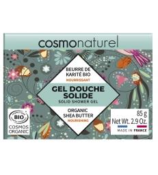 Gel douche solide au beurre de karité bio 85g Cosmo Naturel