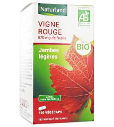 Vigne rouge bio 150 Végécaps Naturland