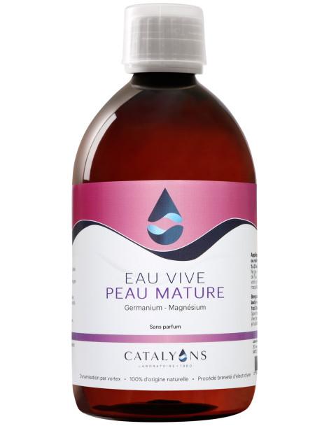Eau Vive Peaux Matures recharge de 500 ml Catalyons