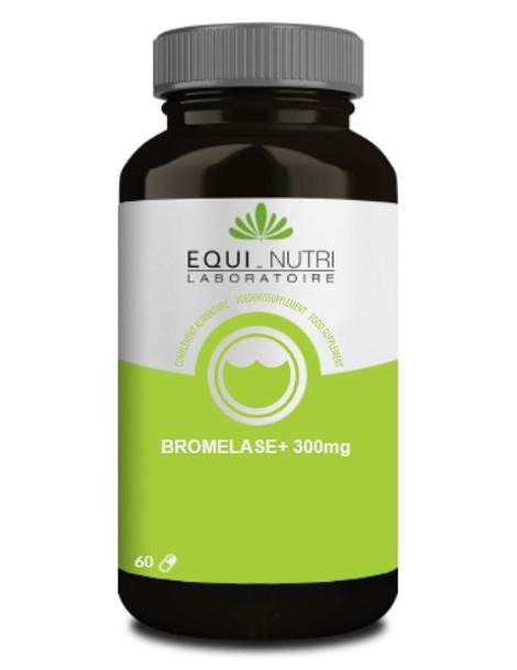 Bromelase 300mg 60 gelules Equi - Nutri bromélaIne enzymes Herboristerie de paris
