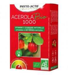 Acérola Bio 1000 AB 24 comprimés Phyto-Actif