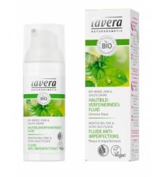 Fluide anti imperfections à la Menthe bio 50ml Lavera